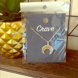 Crave Crescent Necklace
